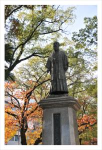 稲葉翁銅像